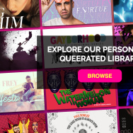 Homepage of the LGBTQ streaming service Revry.