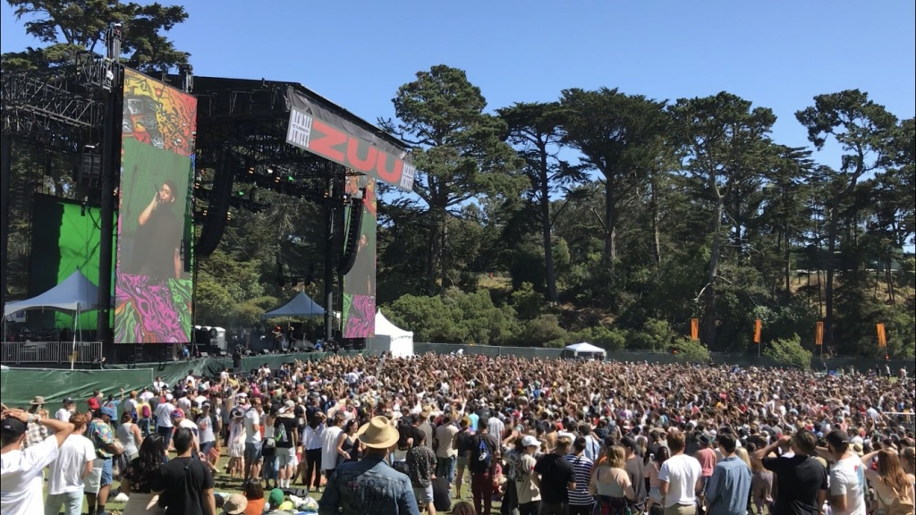 Outside Lands is an annual music festival at Golden Gate Park in San Francisco.