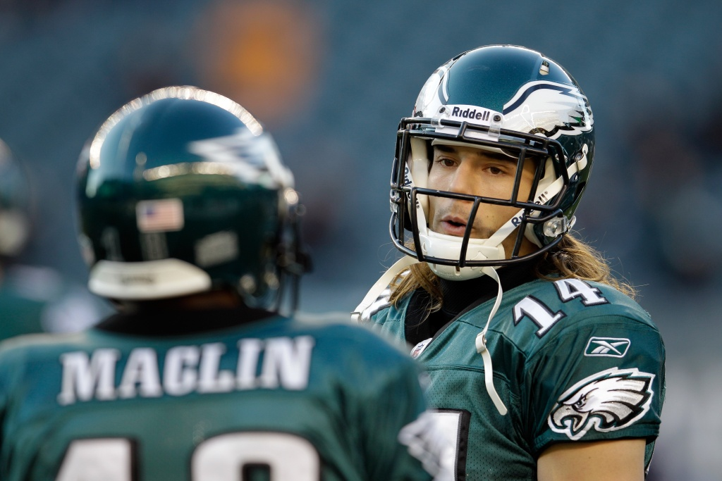 Riley Cooper was caught on tape saying a racial slur.