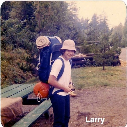 Larry Mantle at Universal Studios circa 1968.