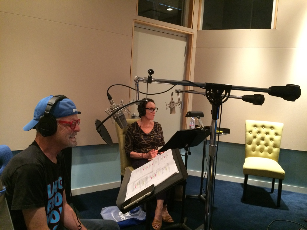 Voice actors Rob Paulsen and Tress MacNeille worked together in the '90s and they've reunited on the Netflix series,