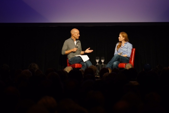 The Frame's John Horn interviews Amy Adams about her career ahead of a screening of her new film