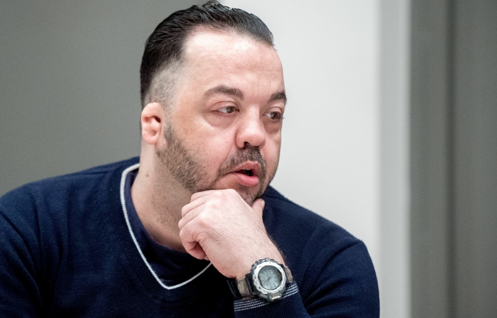 Former nurse Niels Högel was found guilty of killing patients in his care by injecting them with drugs and then trying to resuscitate them. He's seen here in court, awaiting his verdict in Oldenburg, Germany.
