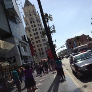 LAPD patrol Hollywood