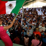 The Mexican presidential candidate of th