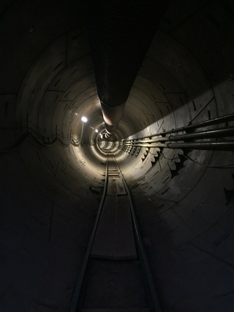 Elon Musk's Boring Company is building an innovative new transportation tunnel under the city of Hawthorne.
