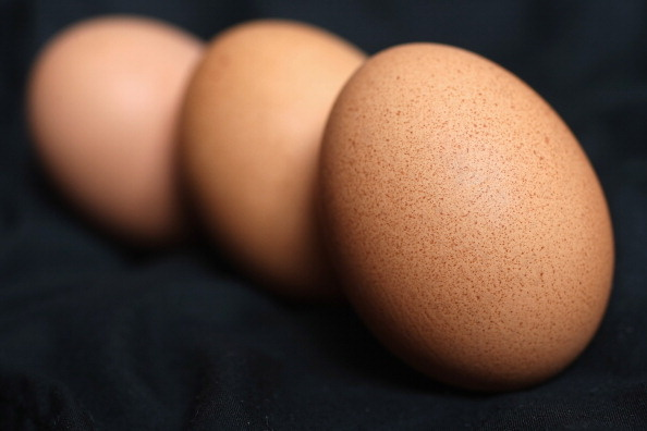 The U.S. Department of Agriculture says eggs are a major source of cholesterol in the American diet.