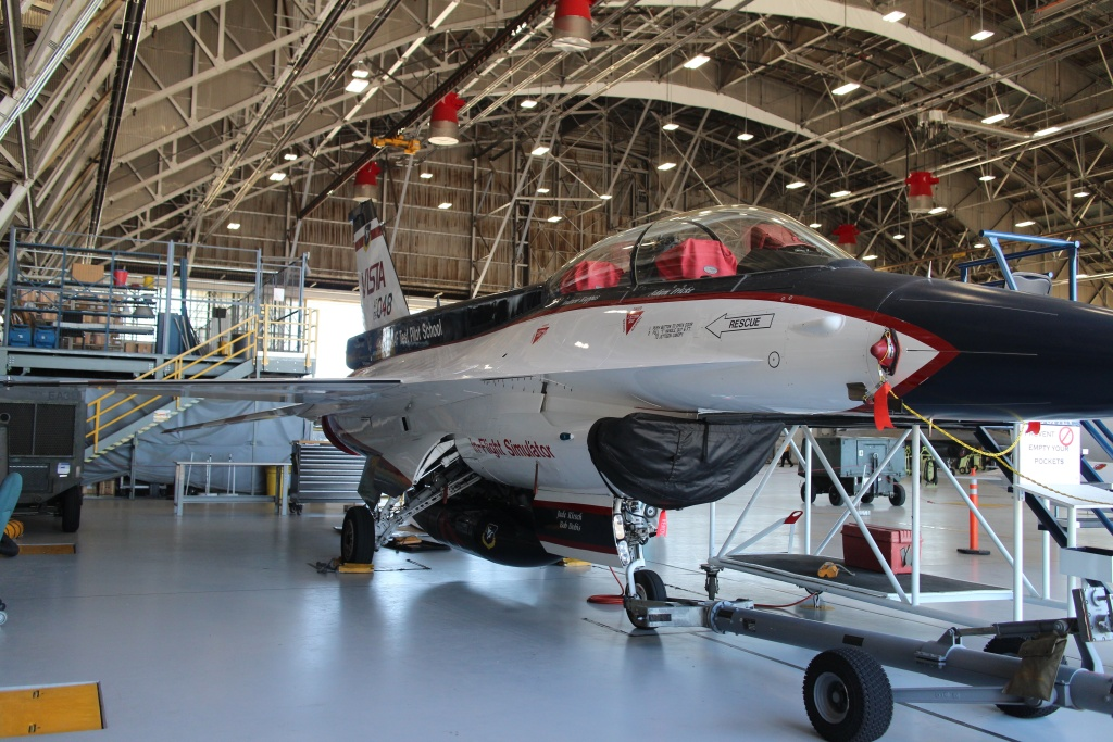 This modified F-16 can simulate the flight characteristics of many other aircraft.