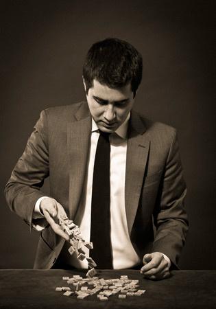 Magician David Kwong.