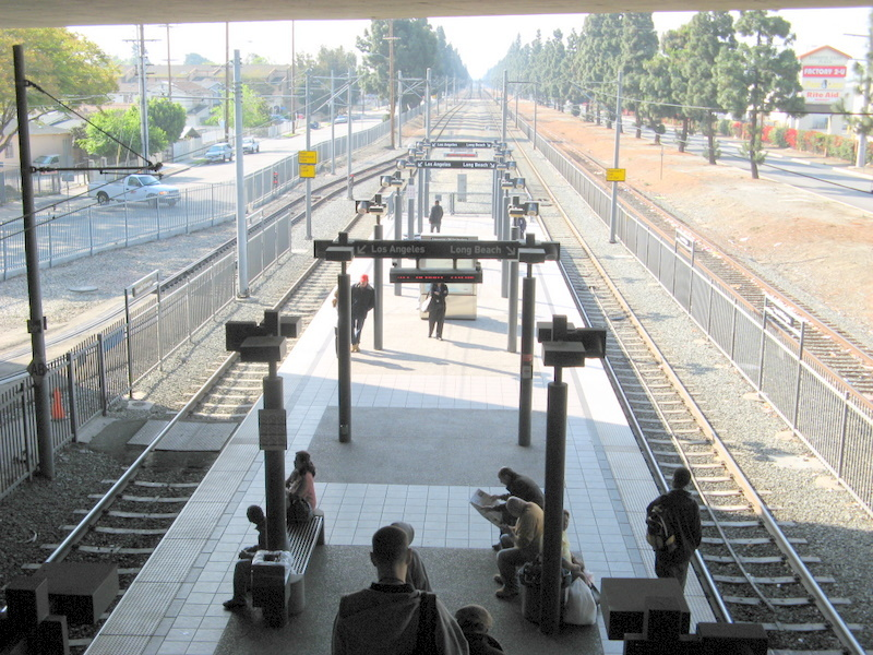 More than $10 million in federal grant money will go to the Los Angeles County Metropolitan Transportation Authority to improve the Willowbrook/Rosa Parks Station. This project will lengthen the Metro Blue Line platform, link existing rail, bike and bus facilities and enhance pedestrian and car access.