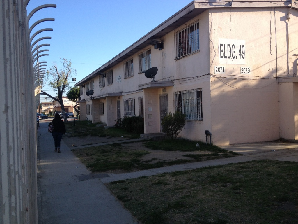 The Jordan Downs housing project in Watts, built in the 1950s, is being renovated for low-income housing using money from a program that may now get cut under the Republicans' federal tax overhaul proposal.