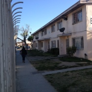 Jordan Downs Housing Project in Watts.