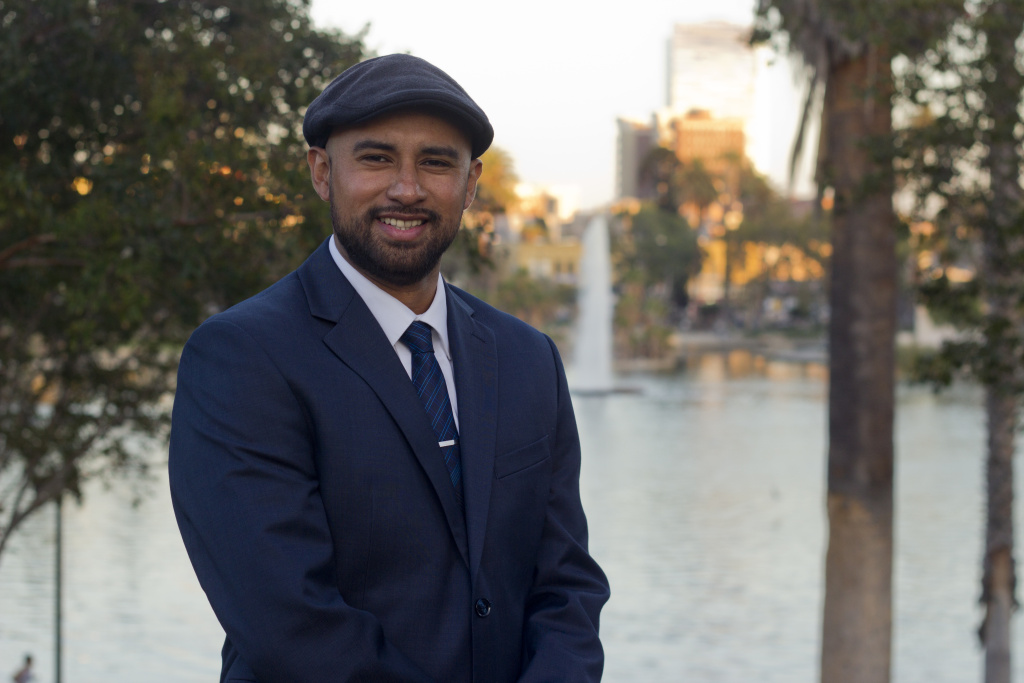 Giovany Hernandez is running for Los Angeles City Council in CD1.