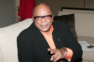 Musician Quincy Jones attends the 2010 NAMM Show - Day 1 at the Anaheim Convention Center on January 14, 2010 in Anaheim, California.