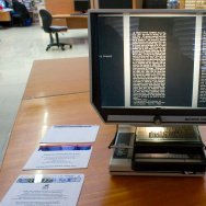 Microfiche display