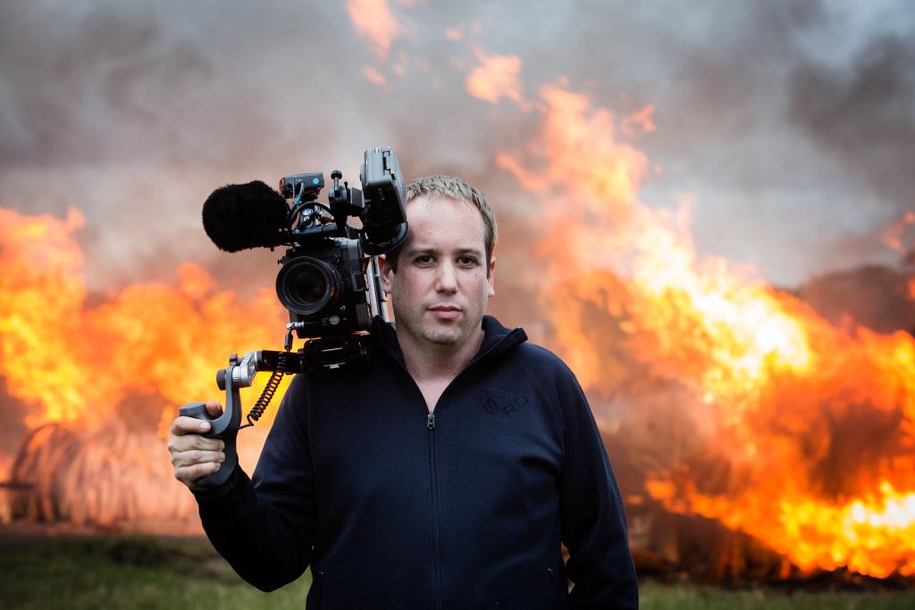"""The Ivory Game"" director Kief Davidson."