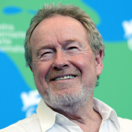 "English director Ridley Scott poses during a photocall for the movie ""Blade Runner: The Final Cut"" during the 64th Venice International Film Festival at Venice Lido in 2007."