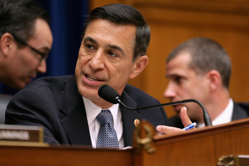House Oversight and Government Reform Committee Committee Chairman Darrell Issa (R-CA) leads a hearing on the Benghazi attacks. Issa narrowly won re-election this year.