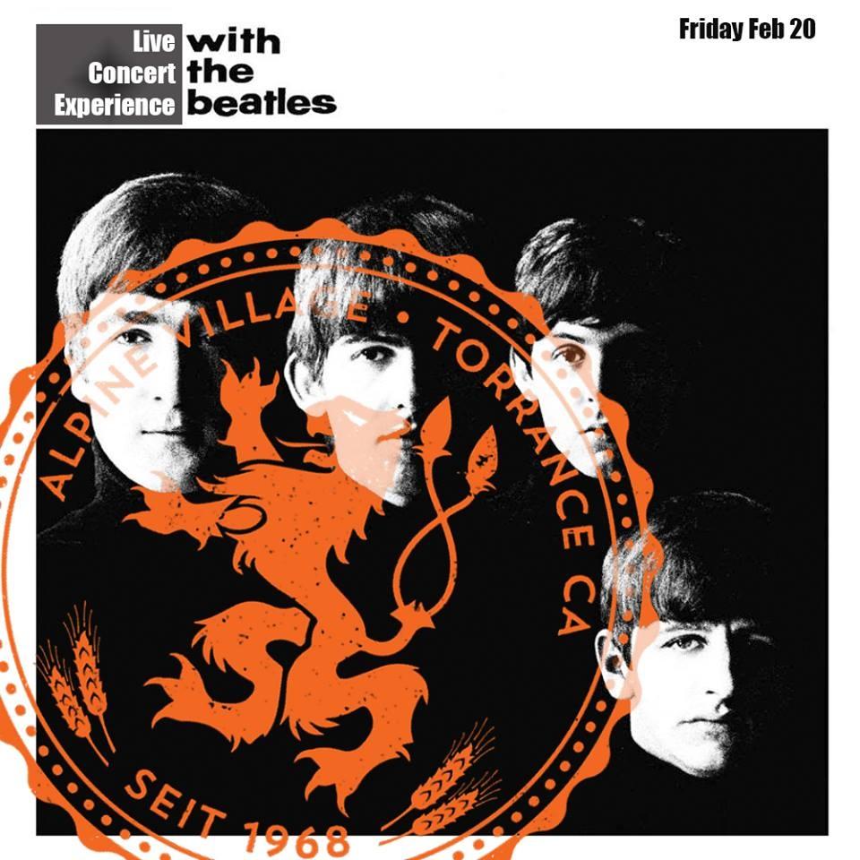 Flier: With The Beatles Concert