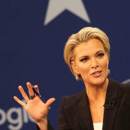 Fox News anchor Megyn Kelly speaks with Republican presidential candidate Sen. Ted Cruz on Jan. 28.