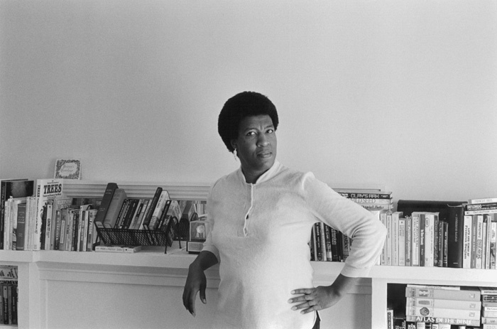 Science fiction writer Octavia Butler in 1984.