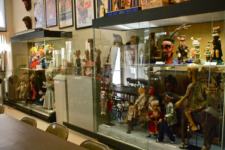 The International Puppetry Museum opened in Pasadena 15 years ago.
