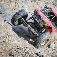 Big engines, monster wheels and wild suspensions are all required for vehicles competing in the King of the Hammers race, held each February in the Southern California desert.