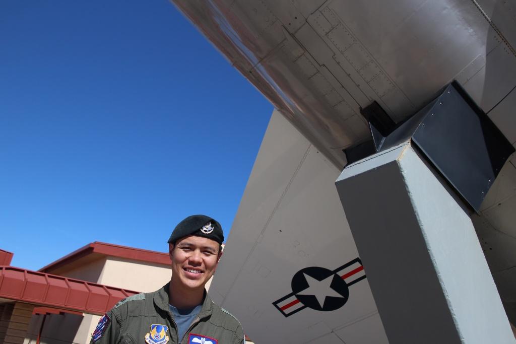 Major Matthew Goh graduated from the U.S. Air Force Test Pilot School June 9, 2017.