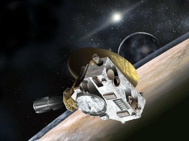 Photo: New Horizons spacecraft