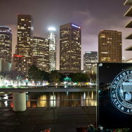 dwp water and power los angeles skyline