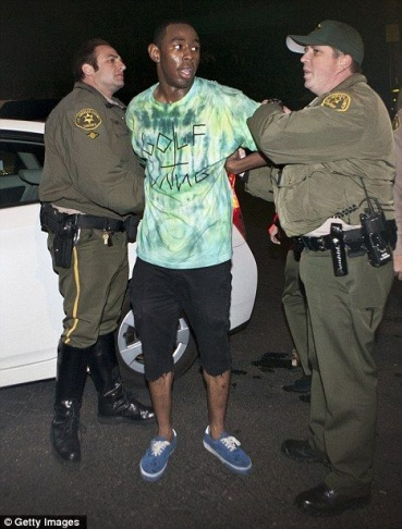 Tyler the Creator arrested
