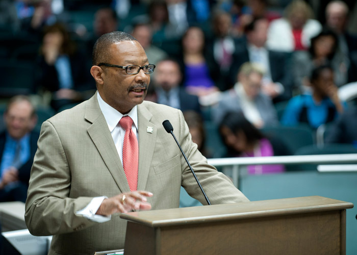 Assemblyman Reginald Jones-Sawyer (D-Los Angeles) will pay a fine related to his 2012 campaign for the State Assembly.