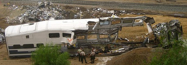 Metrolink train crash