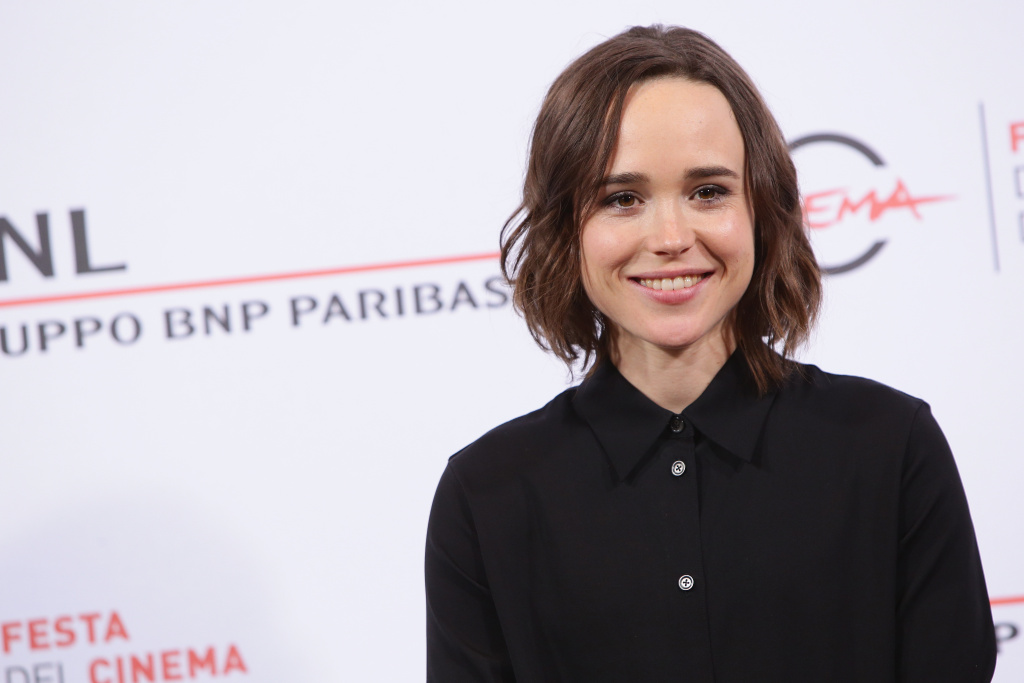 Ellen Page attends a photocall for 'Freeheld' during the 10th Rome Film Fest on Oct. 18, 2015 in Rome, Italy.