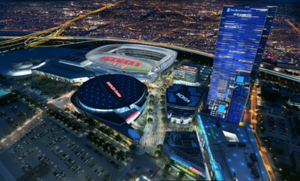 The fate of a new NFL stadium in downtown L.A. — and the return of pro football to Los Angeles — has been called in doubt by AEG's decision to put itself up for sale.