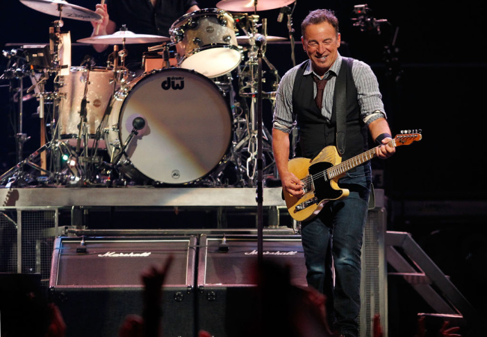 Bruce Springsteen And The E Street Band In Concert  - Pittsburgh, PA