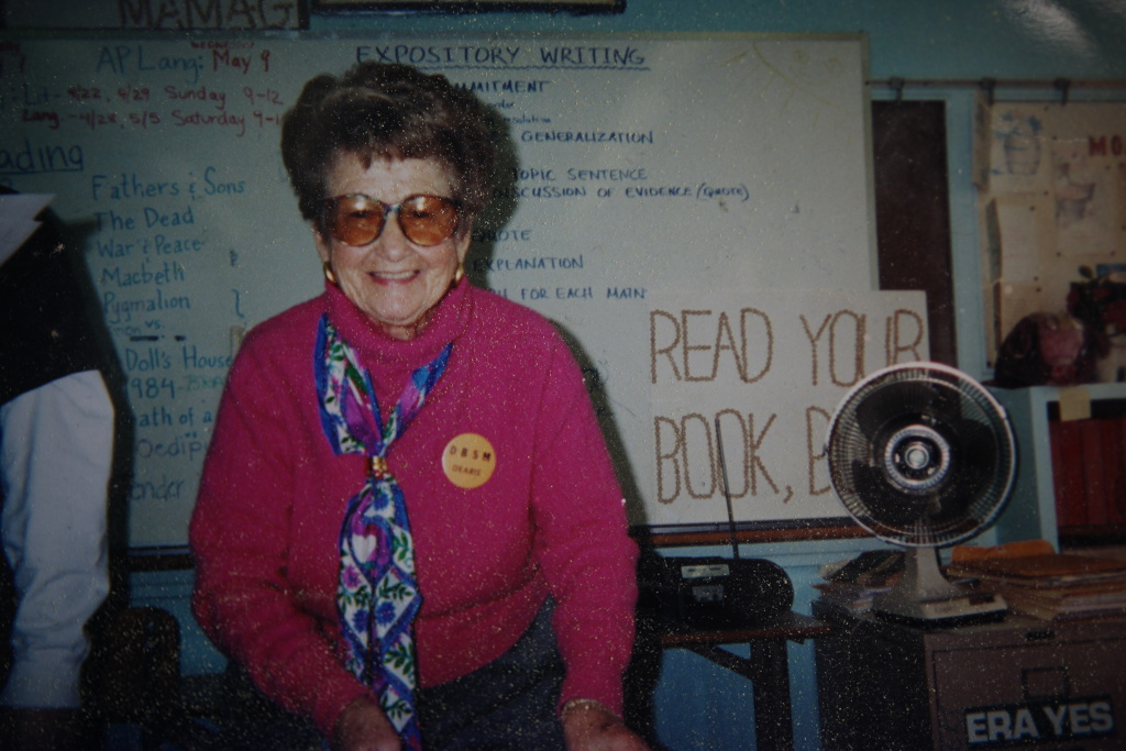 Rose Gilbert, longtime teacher and donor at Palisades Charter High School, died Monday at age 95.