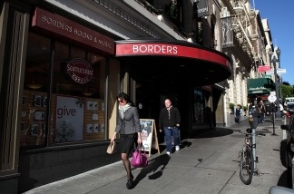 Borders bookstore is struggling to hang on to its business