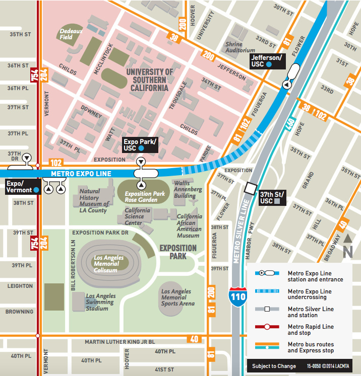 Map Everything You Need To Know To Get To And Park At La