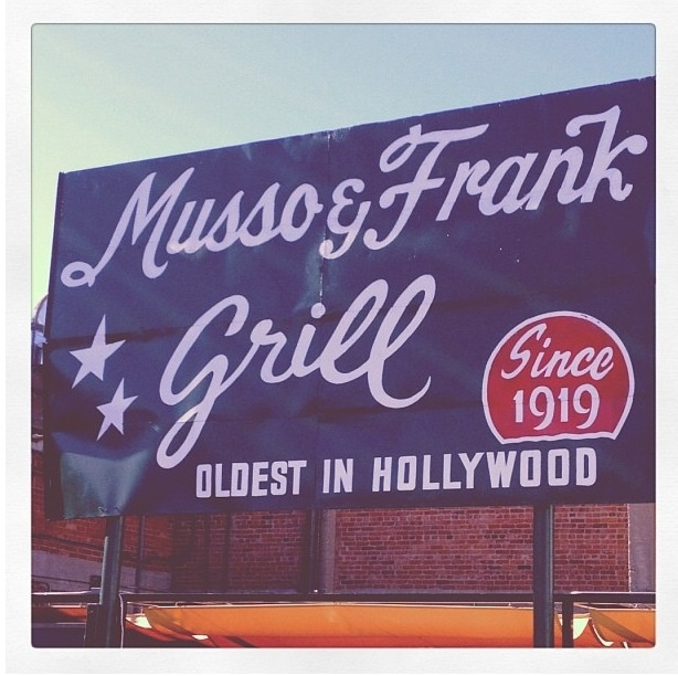 Musso & Frank Grill, Hollywood