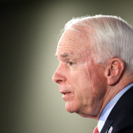 U.S. Sen. John McCain (R-AZ) addresses the Heritage Foundation December 15, 2009 in Washington, DC. Sen.