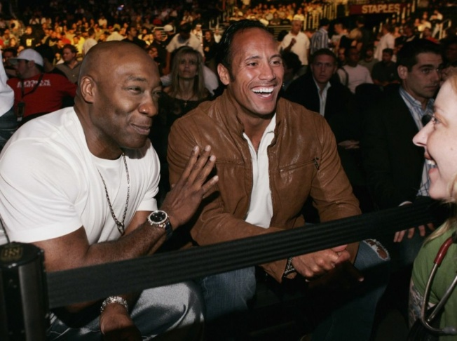 Celebrities Attend Ultimate Fighting Championship 60