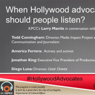 When Hollywood advocates, should people listen?
