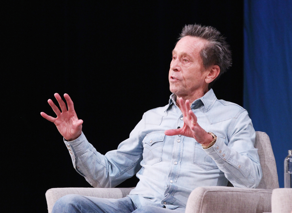 Brian Grazer of Imagine Entertainment speaks onstage for Pure Genius: Remaking a Legacy and Finding the Next Generation of Prestige Content.