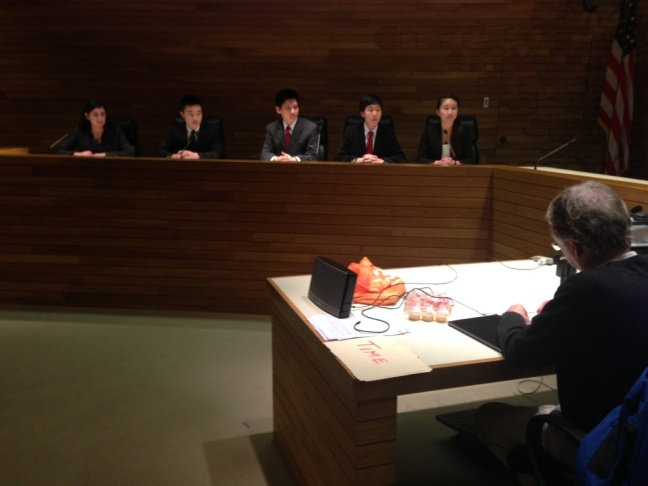 Constitution Team competes by simulating Congressional Committee hearings in which they expound on the US Constitution.