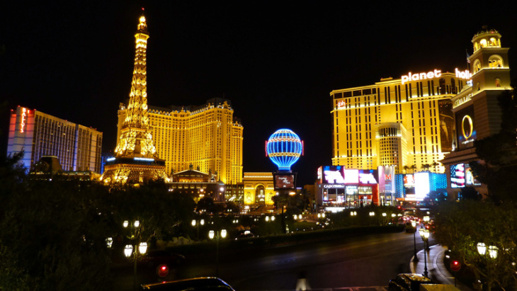 The Las Vegas Strip is the second most popular travel destination for Southern Californians during the Memorial Day Holiday, according to Automobile Club of Southern California.