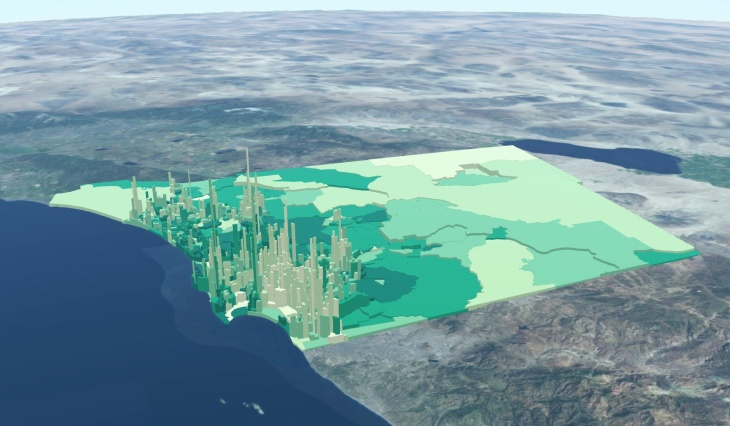 Esri: San Diego map