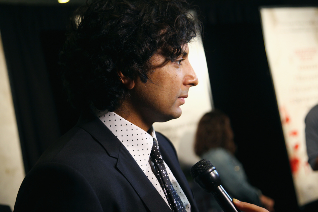 Writer/director/producer M. Night Shyamalan attends the New York premiere of