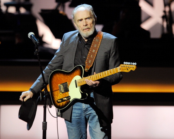 Merle Haggard performs during the opening night of The Smith Center for the Performing Arts on March 10, 2012 in Las Vegas, Nevada.