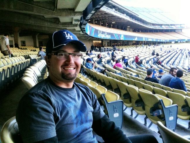 Jeremy Spurley, Dodgers Fan from Glendale